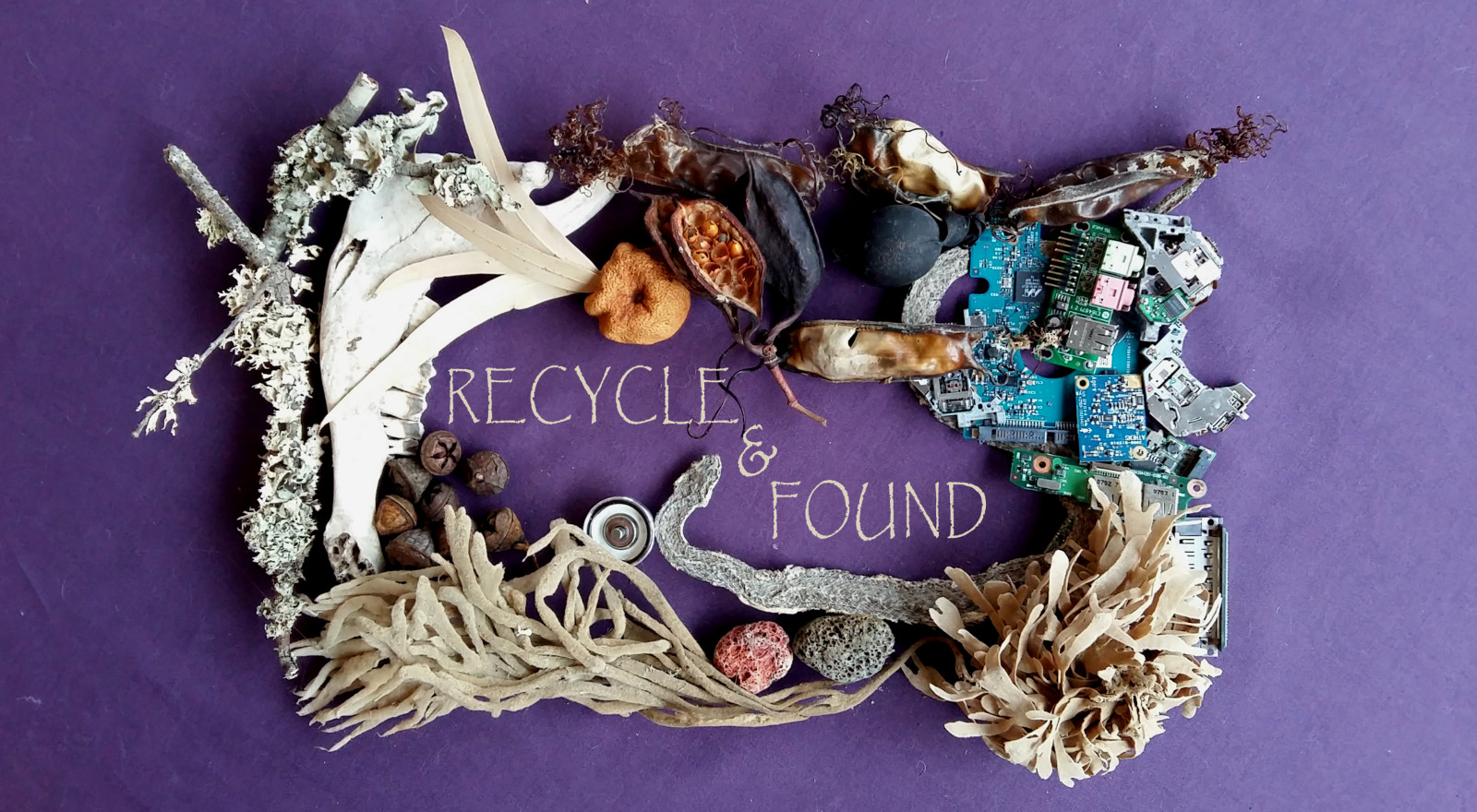 Recycle & Found by Lindsey Piper